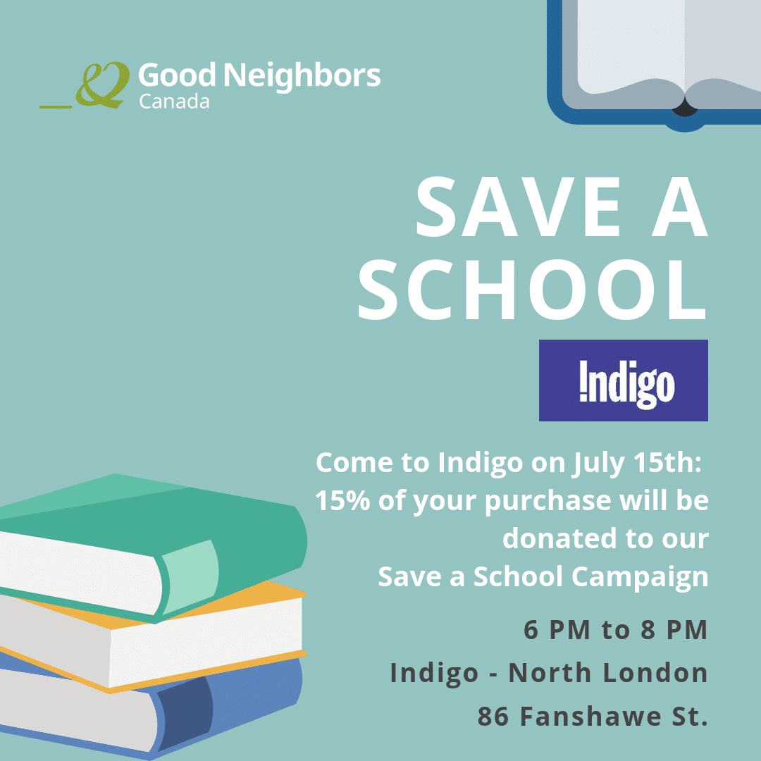 Save a School at Indigo