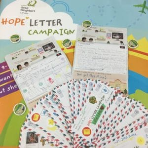 Hope Letter winners