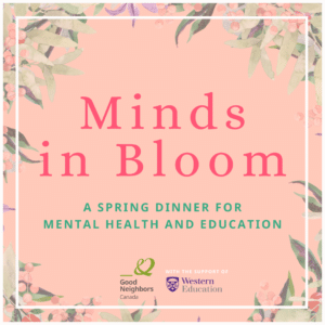 Minds in Bloom fundraiser