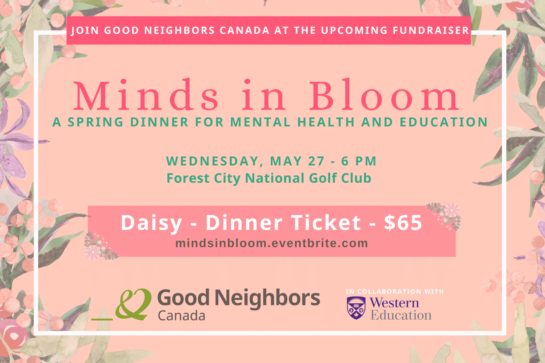 invitation Minds in Bloom