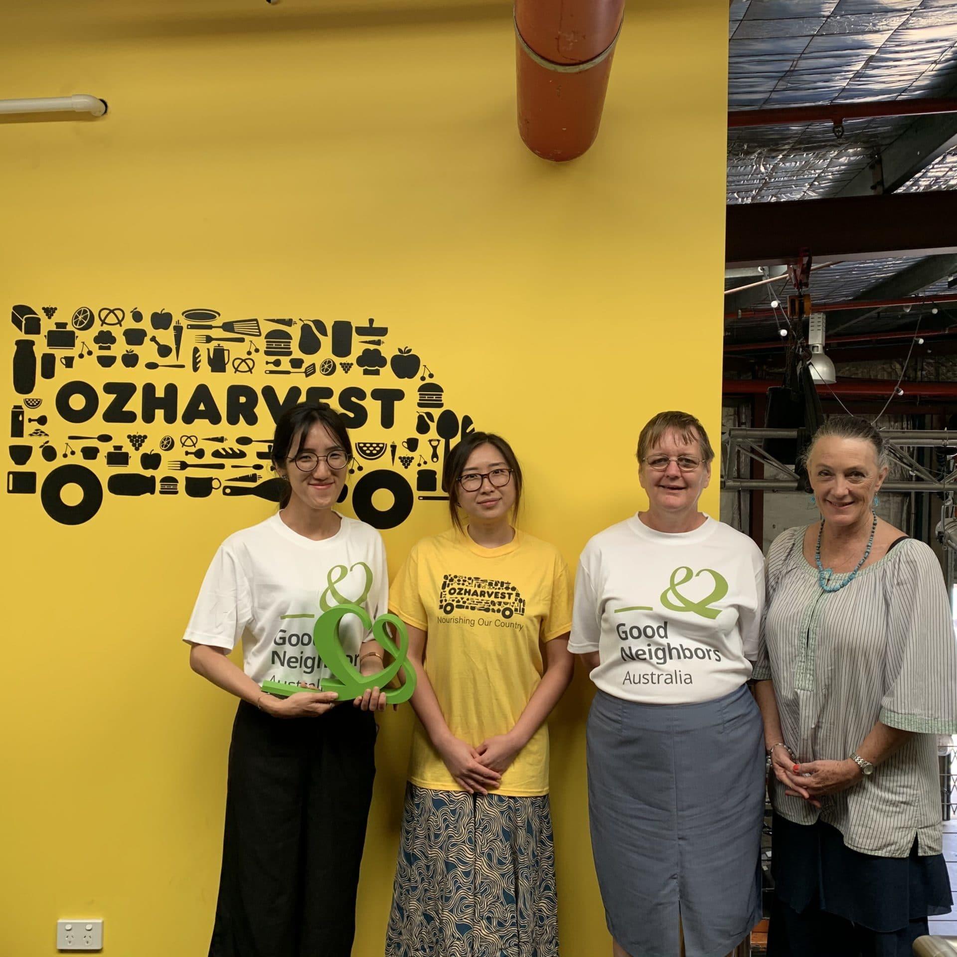 Good Neighbors Australia's members at OzHarvest