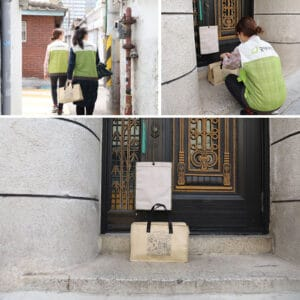 Meal deliveries to homes in South Korea