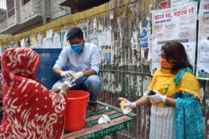 Handwashing practice in Bangladesh