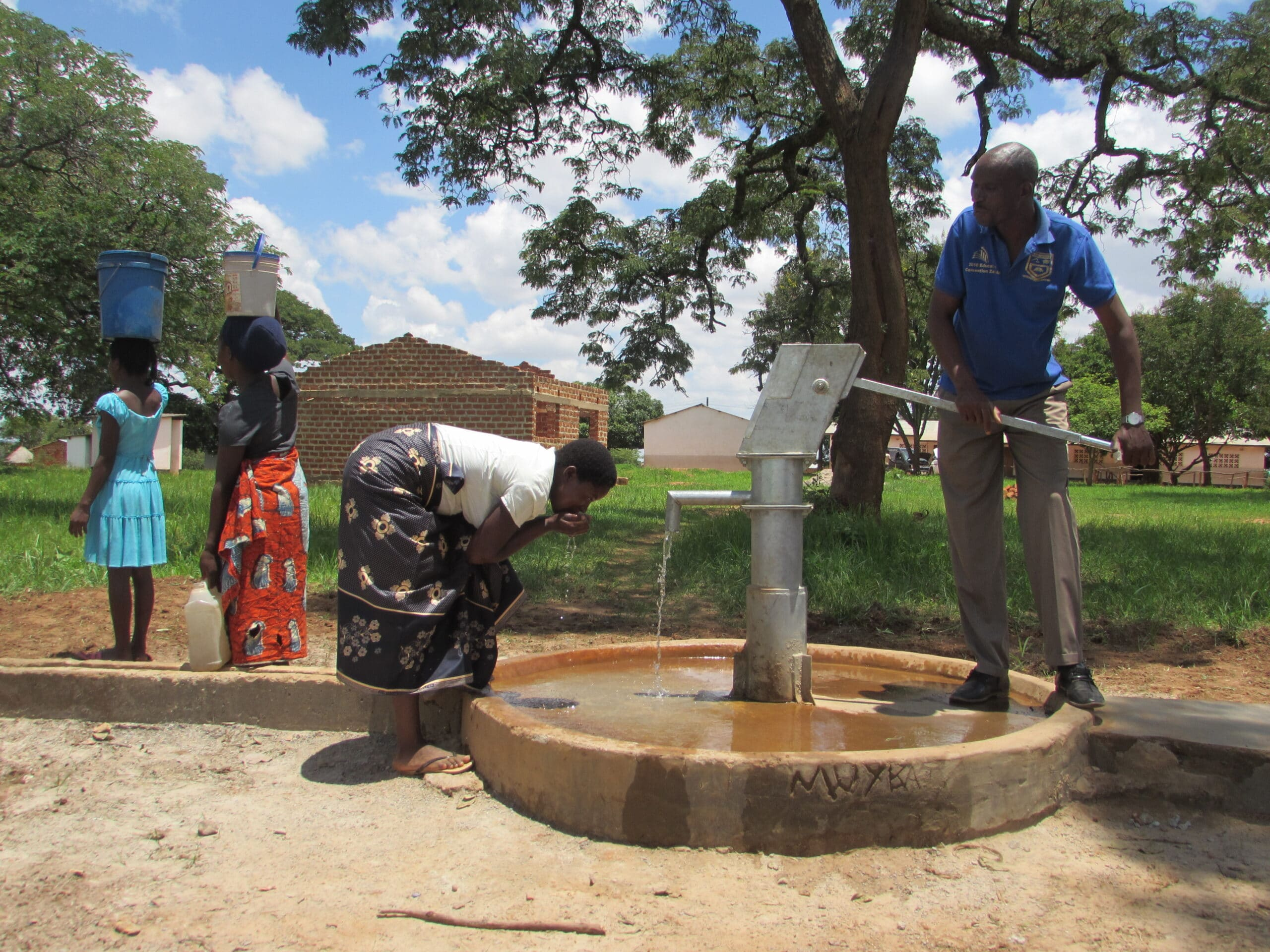 Canada Wishing Well Project No. 4 Community using Borehole