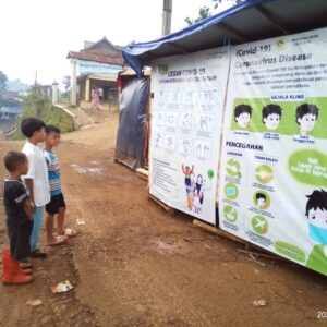 Prevention campaign in Indonesia