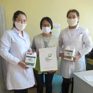 Sub committee at a health center in Mongolia