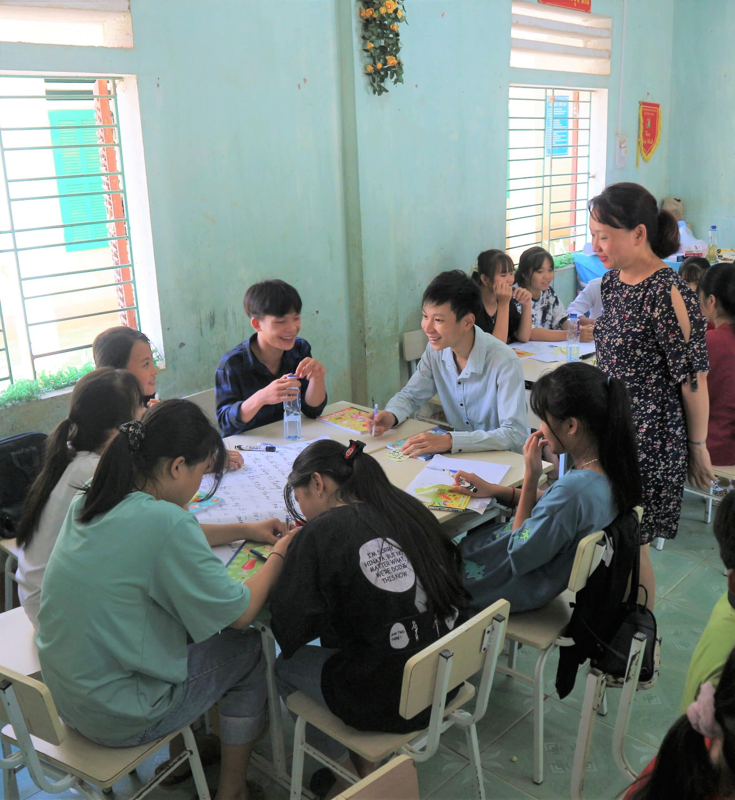 survey and group discussion Vietnam