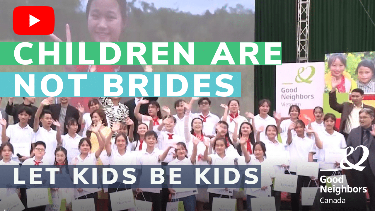 YouTube video Children are not brides