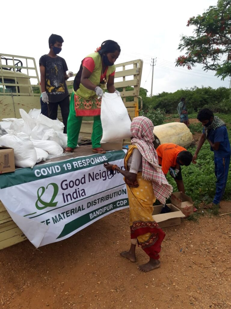 COVID-19 food distribution in India