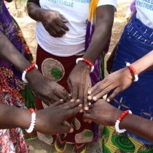 women wear menstruation bracelets