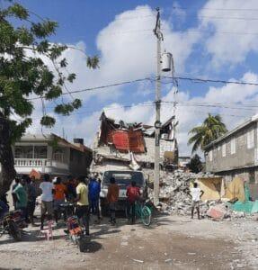 Haiti earthquake 2021