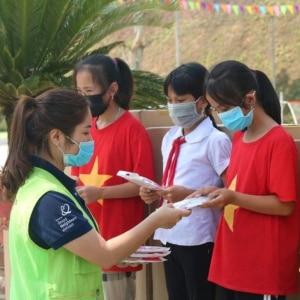 Underwear donation in Vietnam