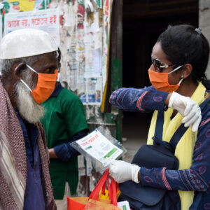 Leaflet distribution and awareness in Bangladesh
