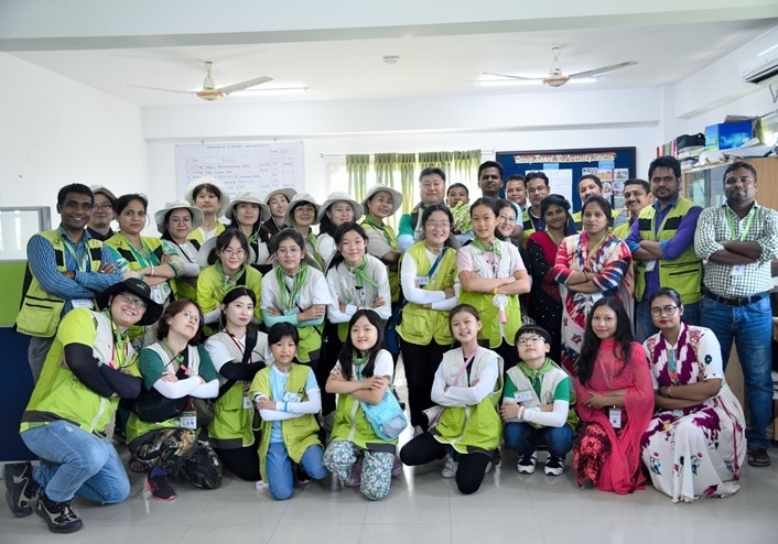 Hope Letter volunteers in Bangladesh